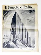 Fascismo - Giornale Il Popolo D'Italia - Numero Speciale Ricorrenza Marcia Su Roma 28 Ottobre 1934 - Anno XXI - N° 256 - Storia, Biografie, Filosofia