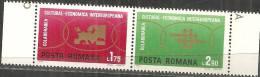 Romania 1971 Nuovo** - Mi.3020/21  Yv.2680/81 - Nuovi