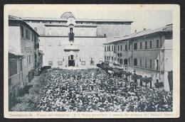 Rara CASTELGANDOLFO S. Padre Benedisce Il Popolo Dal Balcon... 1944 (Cagnoli) ITALIE - Autres