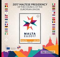 Malta / Malte - Postfris / MNH - Sheet President Raad Van De EU 2017 NEW! - Malta