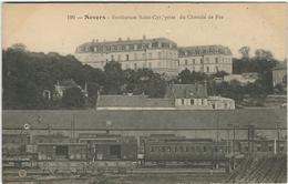 Nievre : Nevers, Institution St Cyr, Prise Du Chemin De Fer - Nevers