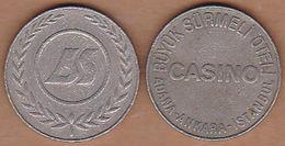 AC - BUYUK SURMELI HOTEL CASINO - CLUB TOKEN NICKEL TURKEY - Jetons En Medailles