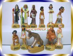 Papyrus Mat  ..lot  De 11 Fèves...Ref AFF : 1-2005 ..(pan 003) - Tekenfilms
