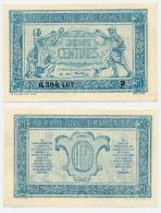 TRESORERIE AUX ARMEES // 1917 // Cinquante Centimes // Série P - Trésor