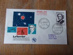 FRANCE (1958) LE VERRIER - FDC