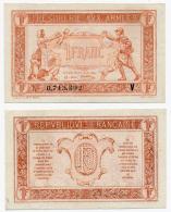 TRESORERIE AUX ARMEES // 1919 // Un Franc // Série V - Treasury