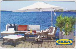GIFT CARD - SWITZERLAND - IKEA - 2010 - TABLE AND CHAIRS - FR - Gift Cards