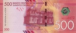 * NICARAGUA 500 CORDOBAS 2014 (2015) P-213 [NI511a] - Nicaragua