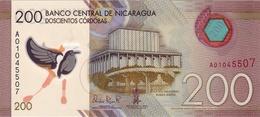 * NICARAGUA 200 CORDOBAS 2014 (2015) P-212 [NI510a] - Nicaragua