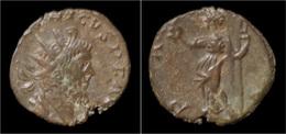 Tetricus I Billon Antoninianus Pax Standing Left - 5. L'Anarchie Militaire (235 à 284)