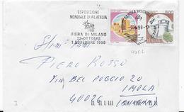 """ANNULLO A TARGHETTA """"ESPOSIZIONE MONDIALE DI FILATELIA  1998"""" UFF. DI GENOVA BRIGNOLE - CAT ORNAGHI 4082 - 6. 1946-.. Repubblica"""
