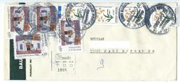 115 TPE - LETTRE ARGENTINE  1988  (5) - Briefe U. Dokumente