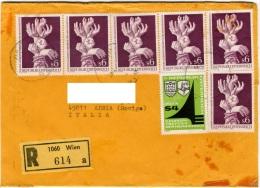 AUSTRIA  ÖSTERREICH  1978  Cover Registered - 1945-.... 2a Repubblica