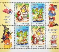 Romania MNH Europa CEPT Sheetlet - 2010