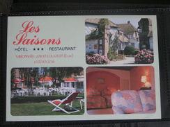 VIRONVAY HOTEL RESTAURANT LES SAISONS HOTEL  L ORANGERIE - France