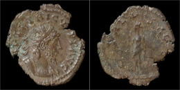 Tetricus I Billon Antoninianus Salus Standing Left - 6. La Tétrarchie (284 à 307)