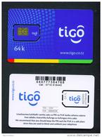 TANZANIA - Mint/Unused SIM Chip Phonecard