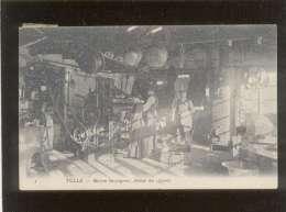 19 Tulle Maison Bazaugour Atelier Des Apprêts Pas D'éditeur N° 3 Tannerie ? Métier , Rare - Tulle
