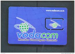 TANZANIA  -  Mint/Unused SIM Chip Phonecard As Scan