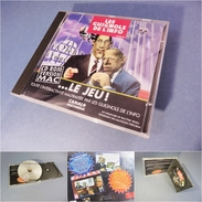 ~ LES GUIGNOLS DE L'INFO CANAL + JEUX CD ROM VERSION MAC 1995 - Vidéo Télévision Telévision Poivre D'Arvor - Jeux PC