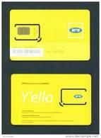 RWANDA  -  Mint/Unused SIM Chip Phonecard As Scan (stock Scan)