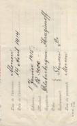 RUSSIE/Banque/Billet à Ordre/Moscou/5000 Roubles/Delabarberhein Ibragimoff/ Stucken & Co/ 1914        BA49 - Invoices & Commercial Documents