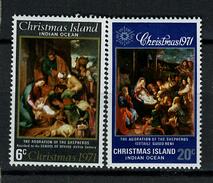 1971 - CHRISTMAS ISLAND - Catg.. Mi. 37/38 - NH - (I-SRA3207.10) - Christmas Island