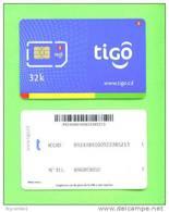 CONGO DR (KINSHASA) - Mint/Unused SIM Phonecard With Chip/Tigo - Congo