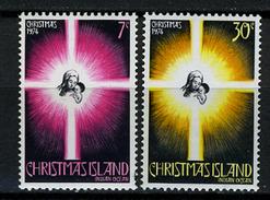 1974 - CHRISTMAS ISLAND - Catg.. Mi. 61/62 - NH - (I-SRA3207.10) - Christmas Island