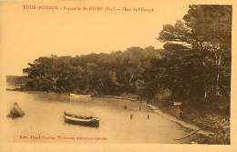 83 - 040217 - TOUR FONDUE Presqu'île De GIENS - Plage De L'Estanel - Barque - Francia