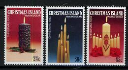 1983 - CHRISTMAS ISLAND - Catg.. Mi. 180/182 - NH - (I-SRA3207.10) - Christmas Island
