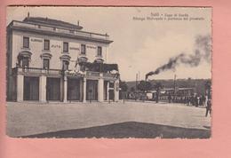 OLD POSTCARD  ITALY - ITALIA - SALO - ALBERGO METROPOLE - Brescia