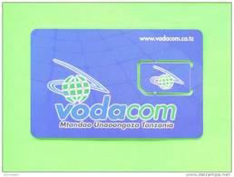 TANZANIA - Mint/Unused SIM Chip Phonecard/Vodacom As Scans