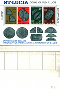 86730)    SAINT Lucia -bf. Coinns Of Old S. Lucie-MNH - VEDI FOTO