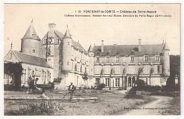 85 - FONTENAY-LE-COMTE - Château De Terre-Neuve - Guiller 13 - Fontenay Le Comte