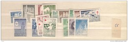 1955 MNH Finland, Finnland, Year Complete According To Michel, Postfris - Finland