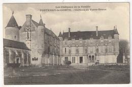 85 - FONTENAY-LE-COMTE - Château De Terre-Neuve - Robin 1350 - 1904 - Fontenay Le Comte