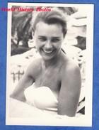 Photo Ancienne - Portrait D'une Jolie Femme - Sourire Smile Girl Sexy Pose Maillot De Bain Woman - Pin-Ups