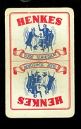 Speelkaart ( 0359 ) 1 Losse Kaart - Publicité Reclame  Wijn Likeur Liqueur Distillerie Stokerij -  HENKES  Schiedam - Barajas De Naipe
