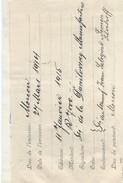 RUSSIE/Banque/Billet à Ordre/Moscou/7000 Roubles/Danilovsky Manufacture/Ivan Sologine Semen Levetzoff/ 1914        BA50 - Invoices & Commercial Documents