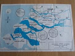 Kaart Zeeland - Havendienst Spido Rotterdam - Nautical Charts