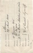 RUSSIE/Banque/Billet à Ordre/Moscou/20 000 Roubles/Crédi IndPrêts/Cardot Syssoiëff/ 1914       BA52 - Invoices & Commercial Documents