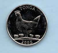 TONGA 5 Seniti 2005 SC  KM68 FAO - Tonga