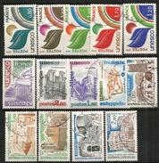 UNESCO ( Monuments:Turquie,Montenegro,Mauritanie,Ethiopie,Yemen,etc) 14 Timbres Oblitérés, 1 ère Qualité