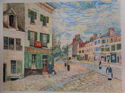 Une Rue à Marly.D'après Alfred Sisley.feuille:620 X 480 Mm.Acrylique Sur Papier Par Debeaupuis.1977 - Acryliques