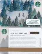 Starbucks - USA - 2015 - CN 6112 SB06 - Gift Cards