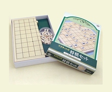 Foldable Magnetic Shogi Set MS-23 ( Hakuei ) - Group Games, Parlour Games