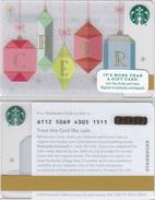 Starbucks - USA - 2015 - CN 6112 SB25 Cheer - Gift Cards