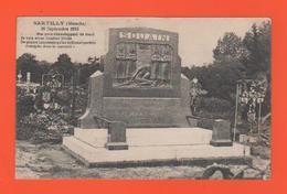 ET/111 SARTILLY MONUMENT AUX MORTS SOUAIN AUX CAPOREAUX  MAUPAS LECHAT GIRARD LEFOULON 17 MARS 1915 LE 20 SEPTEMBRE 1925 - Autres Communes