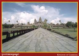 1 AK Kambodscha Cambodia * Tempel Angkor Wat Erbaut Im 12. Jh. - Seit 1992 UNESCO Weltkulturerbe * - Kambodscha
